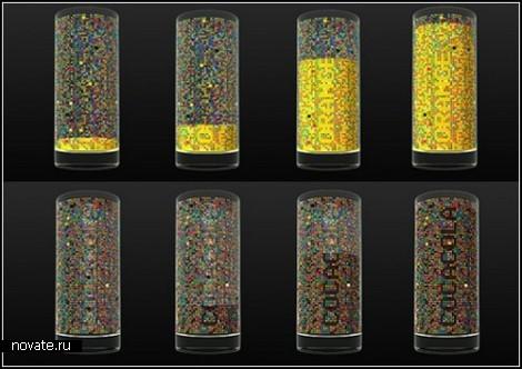 *Зашифрованные* напитки в стаканах от Damjan Stankovic