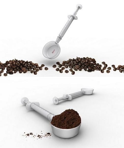 Ложка-шприц Caffeind для настоящих кофеманов