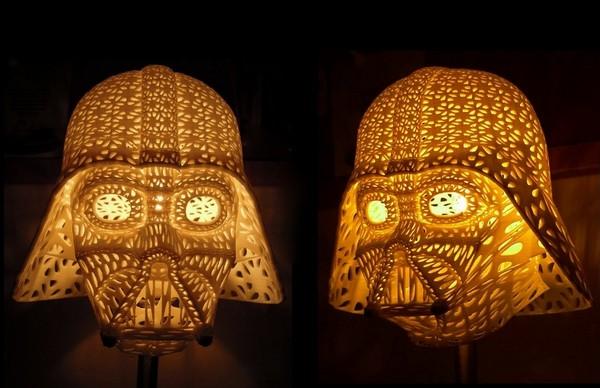 Darth Vader Table Lamp, светильник в стиле Star Wars