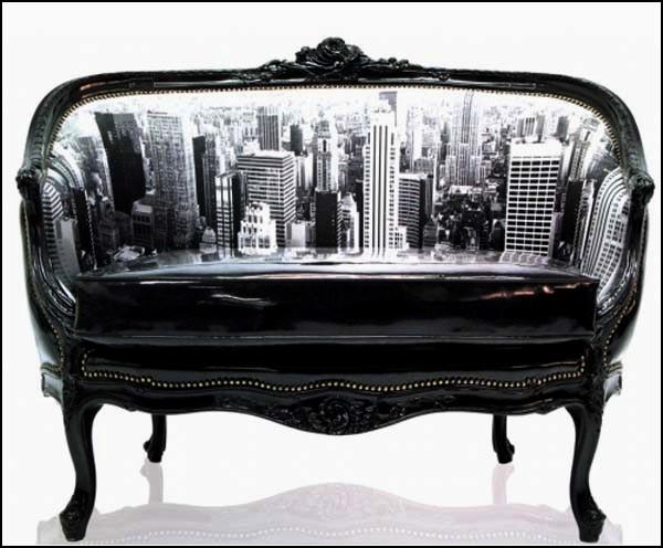 Decorative Sofas, проект ретро-современной мебели от Teo Jasmin