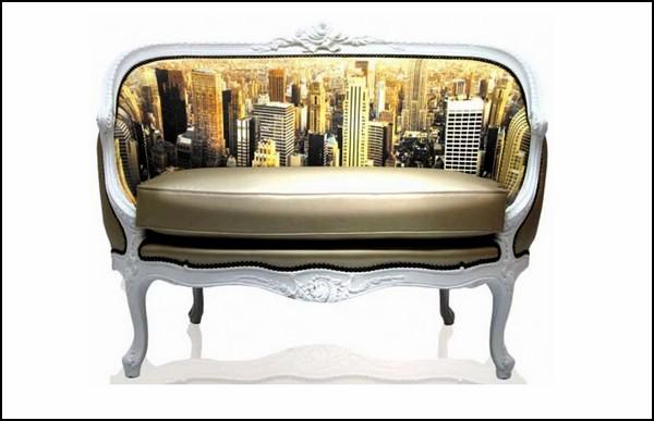 Decorative Sofas с цифровыми принтами любимых городов
