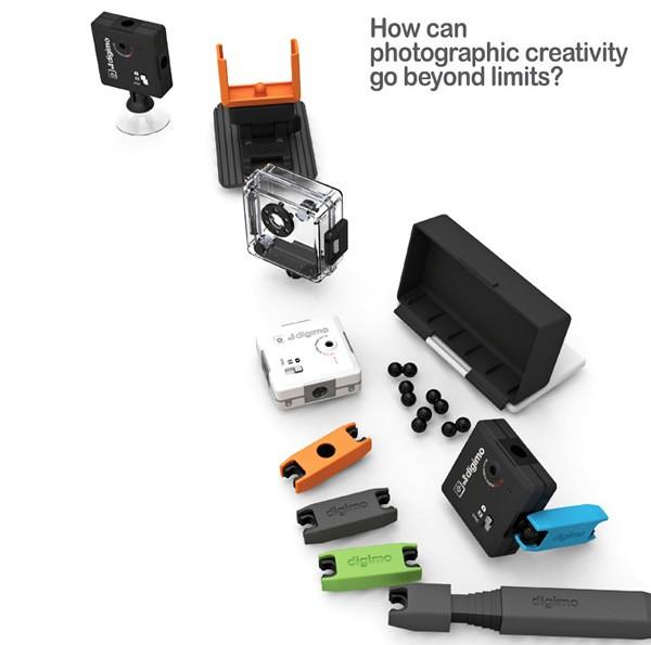 Digimo Camera, модульный фотоаппарат для съемки с разных углов