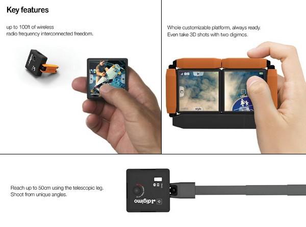 Digimo Camera, фотоаппарат из модулей, которые управляются дистанционно