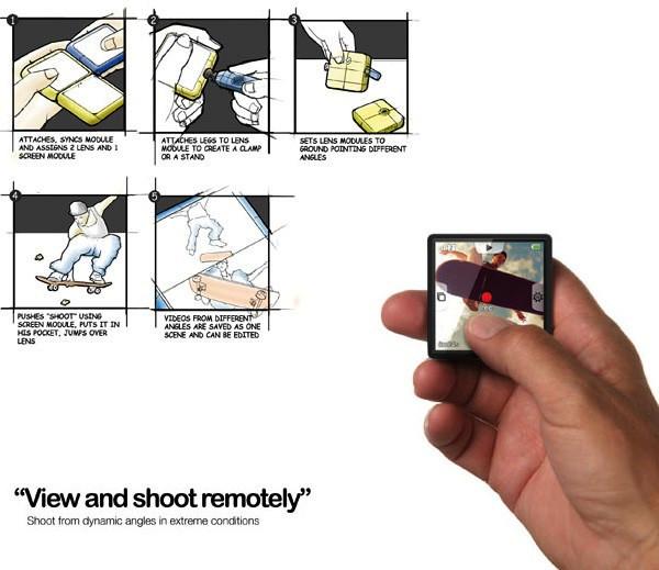 Digimo Camera, модульный фотоаппарат для расширения творческих возможностей