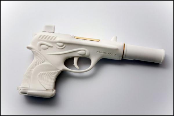 Dior 001, женский пистолет-косметичка