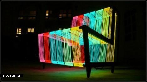 Креативный сияющий стул Disco Chair