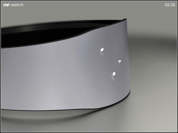 Dot watch, очень минималистические наручные часы