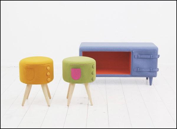 Dressed-up furniture series, или Мебель в *костюмчиках*
