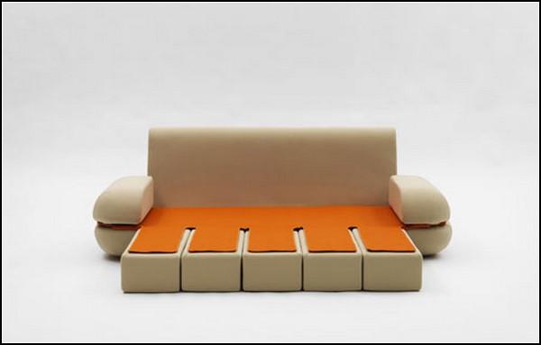 Компактный диван-*клавиши* Dynamic Life