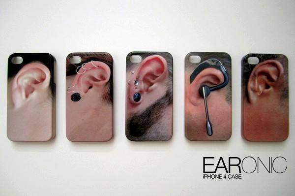 EARonic, коллекция *ушей* для iPhone 4