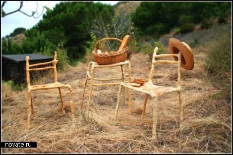 Коллекция съедобной мебели Panpaati от Enoc Armengol