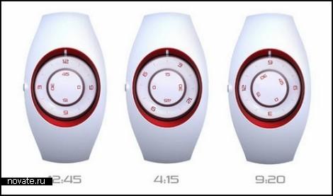 Концептуальные наручные часы Eclipse Watch