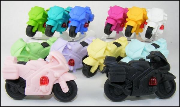 Ластики-мотоциклы