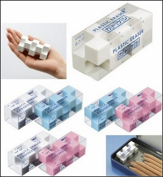 Ластик Kadokeshi Plastic Eraser