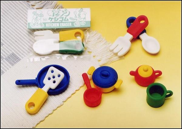 Ластики-инструменты для кухни