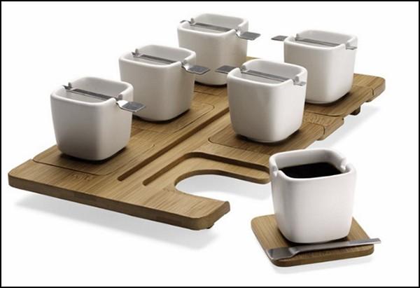 Espresso Cups + Tray, проект, победивший в конкурсе студенческого дизайна