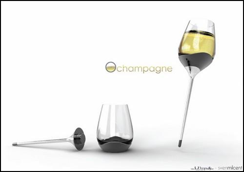 Два - и бокал для шампанского