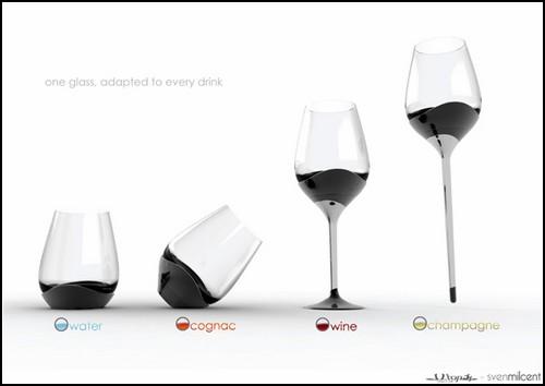 One Glass for Every Drink. Четыре напитка в одном бокале