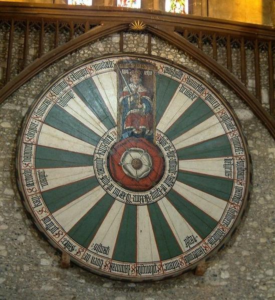 Знаменитый круглый стол на картине Winchester Round Table