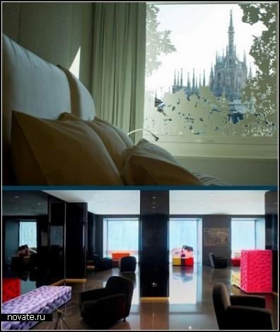 Boscolo Exedra Hotel. Модерновый отель в историческом здании Милана