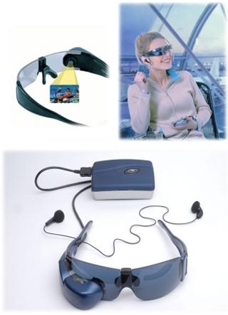 Очки-видеоплейер от компании Eyetop
