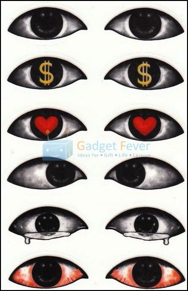 Eyelid Stickers. Маскировка для спящих на работе