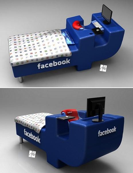 Мебель для интернет-зависимых людей. Концепт FBed concept от Tomislav Zvonariс