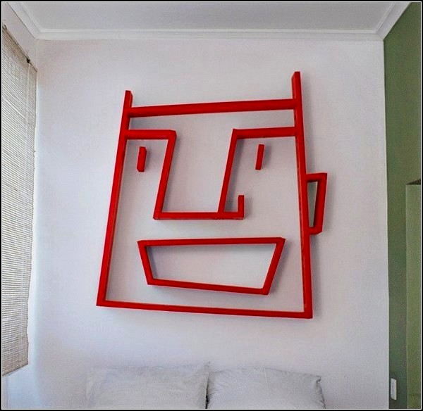 Стеллаж Face Shelving, проект дизайнера Алекси Маккарти