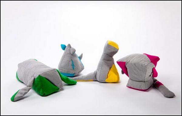 Family Matters, серия психотерапевтических игрушек от Ноа Дотан (Noa Dotan)