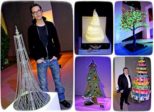 Обзор необычных елок от модных дизайнеров