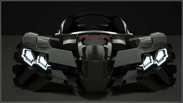 Удивительный автомобиль будущего Flake