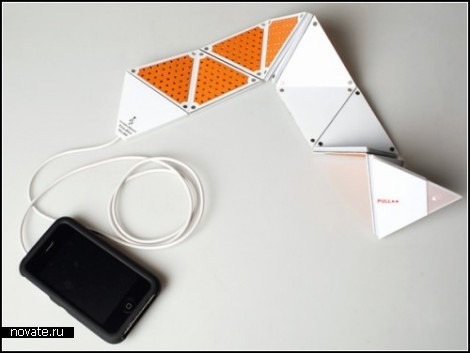 Flexible Speaker. Раскладной динамик для iPhone