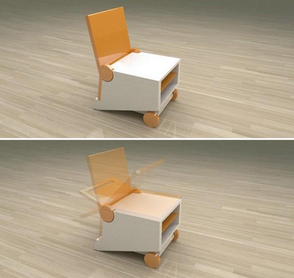 Flippo chair: складная и компактная мебель