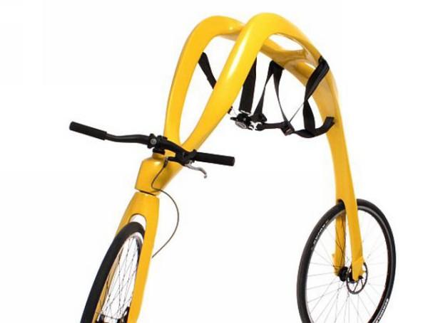 Странный концепт велосипеда-самоката  Fliz Bike