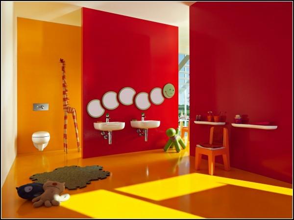 Ванные комнаты Florakids для *цветов жизни*
