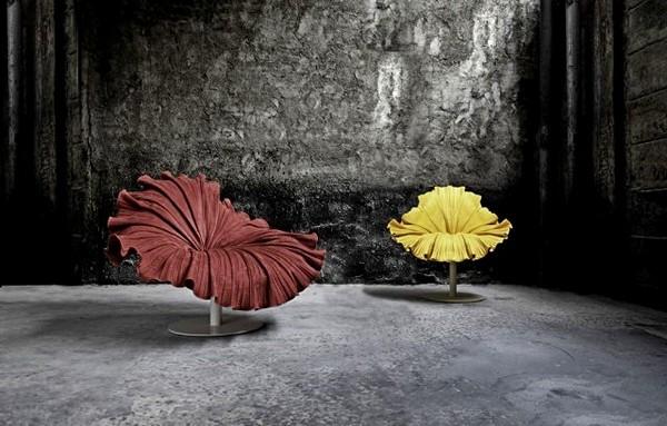 Flower Bloom Chair, кресло в виде цветка от Кеннета Кобонпю (Kenneth Cobonpue)
