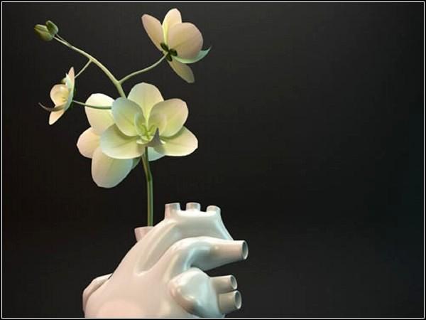 *Сердечная* ваза для романтиков Flower Pump vase