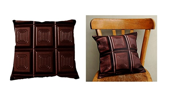 Подушка-шоколадка для сладкоежек