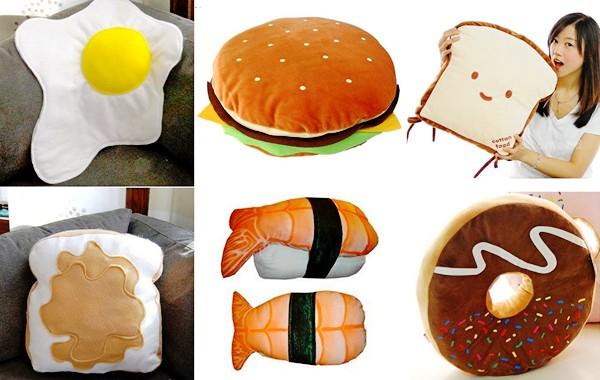 Подушка гамбургер своими руками