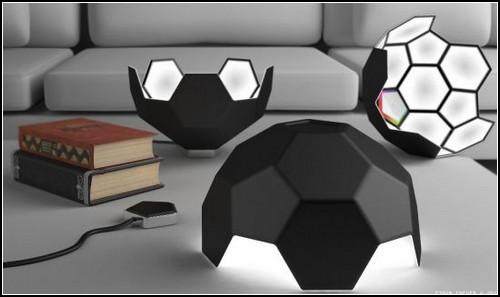 Football shaped lamp от Саймона Эневера (Simon Enever)