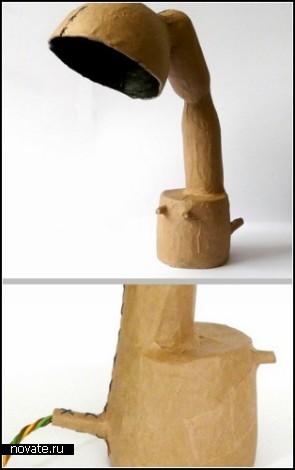 Эко-проект Found Form от от Enina Waelstham из Mormels design studio