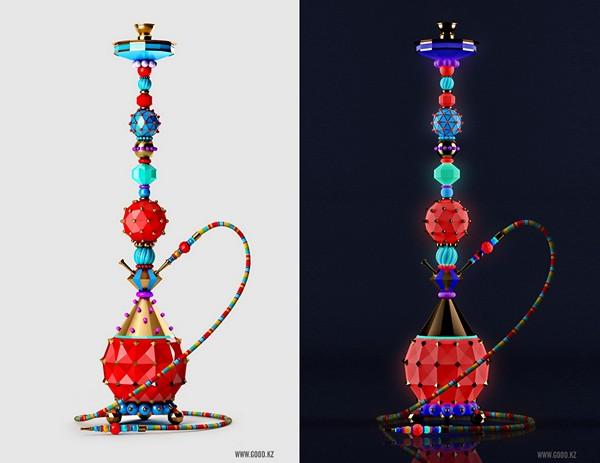Декоративные кальяны Fun-Hookah от дизайн-студии Good