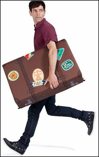 Взял - и беги! Кресло-чемодан от Woouf