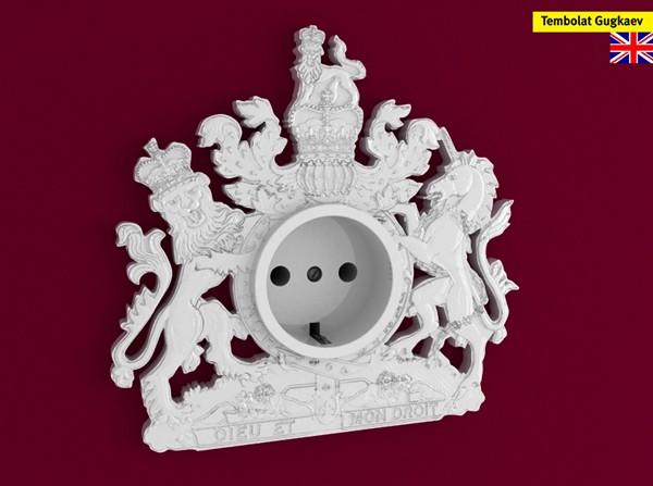 Декоративные розетки из серии Funny sockets