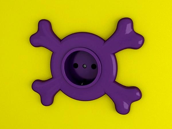 Funny sockets, необычные дизайнерские розетки от Темболата Гугкаева