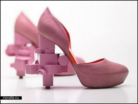 Туфли Furniture-Scrap Shoes из остатков мебели
