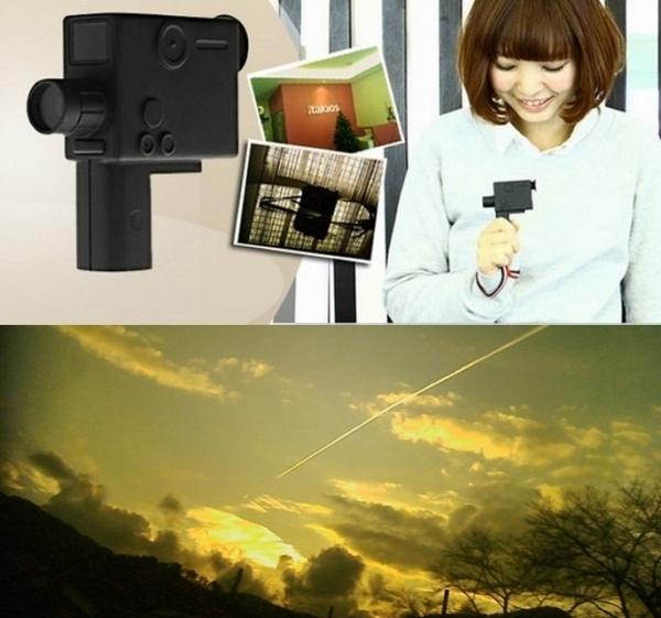 Миниатюрная фотокамера Fuuvi Bee для ретро-снимков и видео