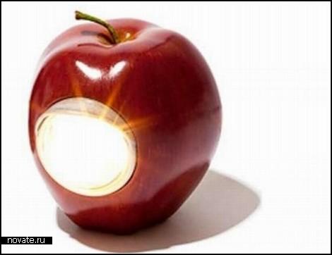 Фруктовый светильник GILApple Lamp