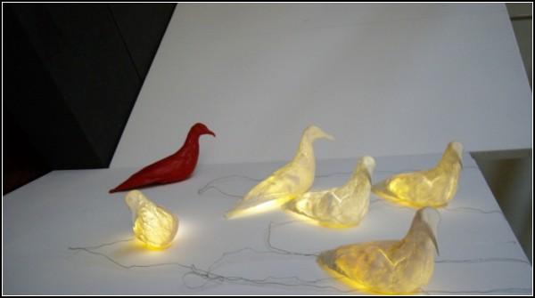 Светильник Gary Lamp в виде птички альбатроса