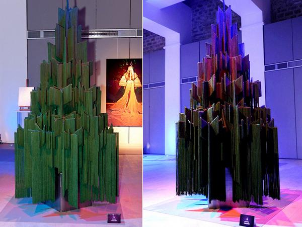 Странная футуристическая елка от Gaultier
